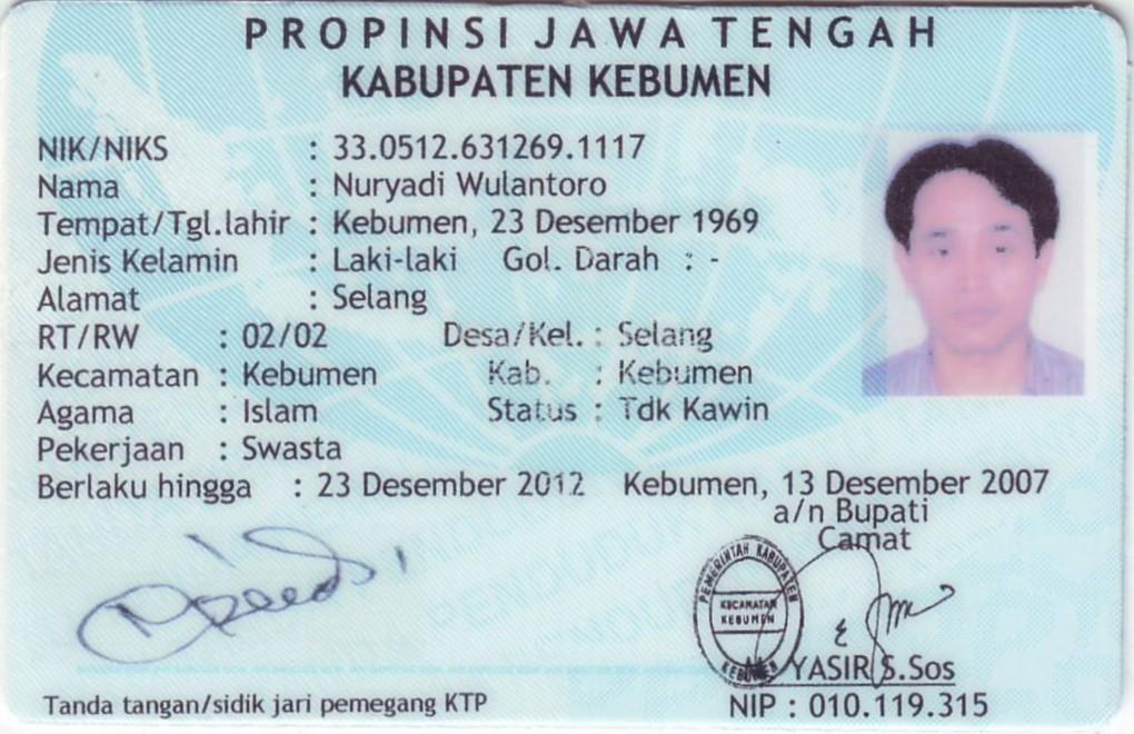 Kartu Tanda Penduduk Group Picture Image Tag Keywordpictures